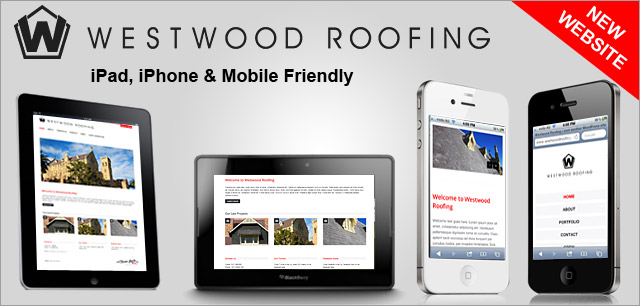 Westwood Roofing New Website