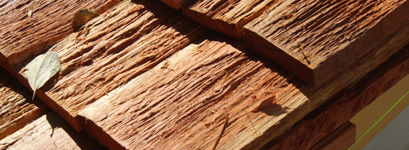 Timber Shingle Roofing